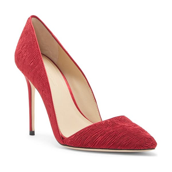 Imagine by Vince Camuto imagine vince camuto 'ossie' d'orsay pump in bordeaux fabric