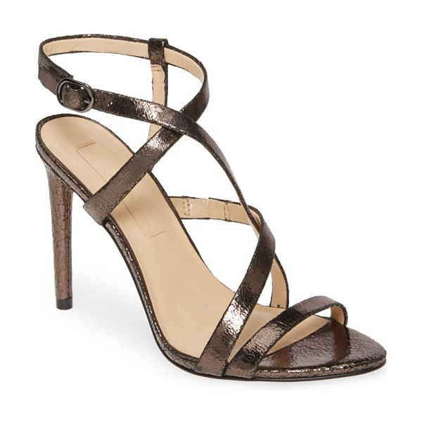 Imagine by Vince Camuto ramsey strappy sandal in warm anthracite leather