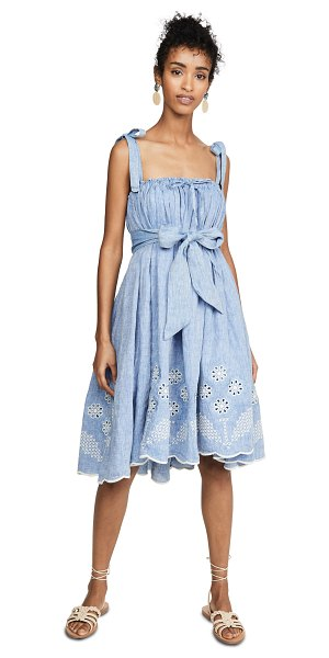 Innika Choo nev erontym dress in chambray