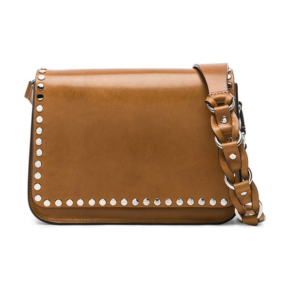 "Isabel Marant Calibar Bag in brown - ""Cow leather with suede lining and silver-tone hardware...."