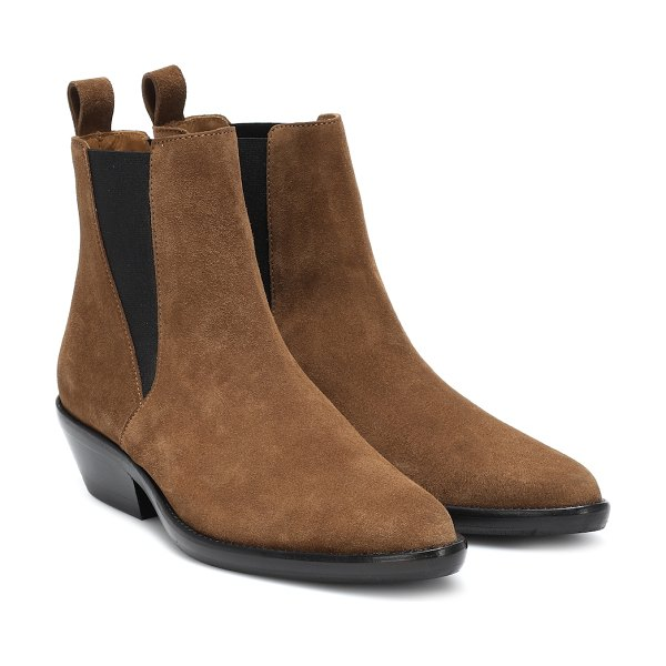 Isabel Marant exclusive to mytheresa – drenky suede ankle boots in brown
