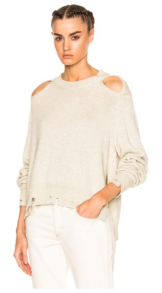 ETOILE ISABEL MARANT Kelia Regular Sweater - 70% cotton 30% wool.  Made in China.  Hand wash.  Knit...