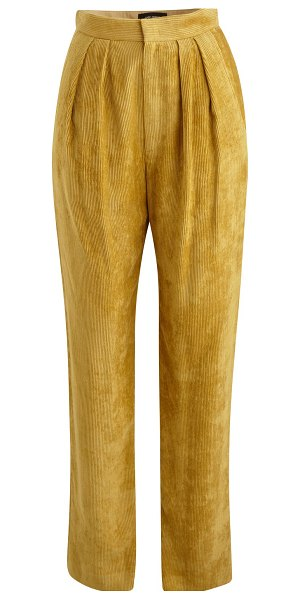 Isabel Marant Fany trousers in dusty yellow
