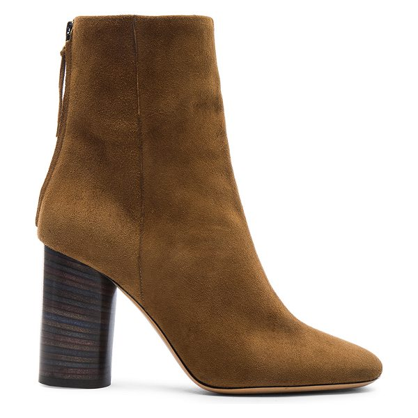 ISABEL MARANT Garett Velvet Boots - Calfskin velvet leather upper with leather sole.  Made in...