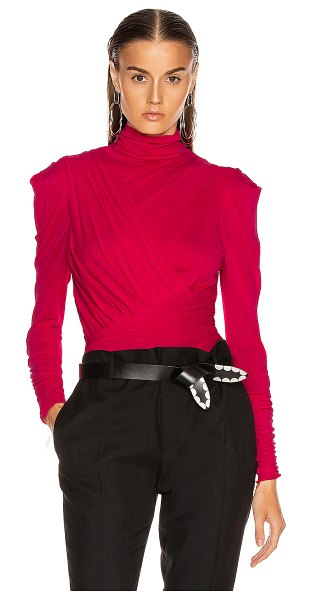 Isabel Marant jalford top in neon pink