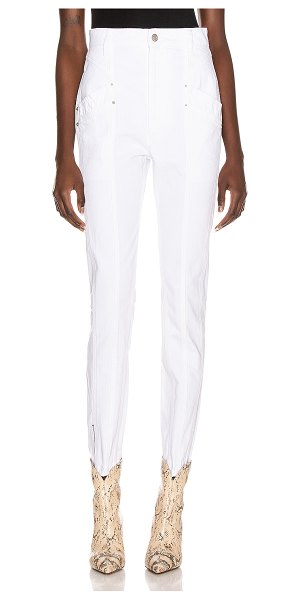 Isabel Marant kelissa pant in white