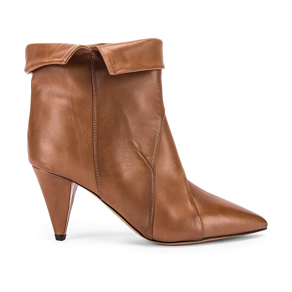 Isabel Marant larel leather boot in natural