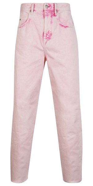 Isabel Marant Larson trousers in pink