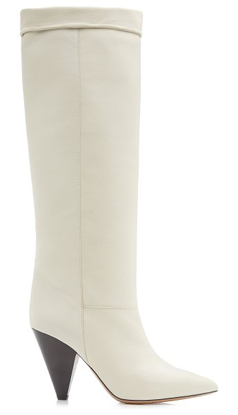 Isabel Marant loens leather knee boots in white