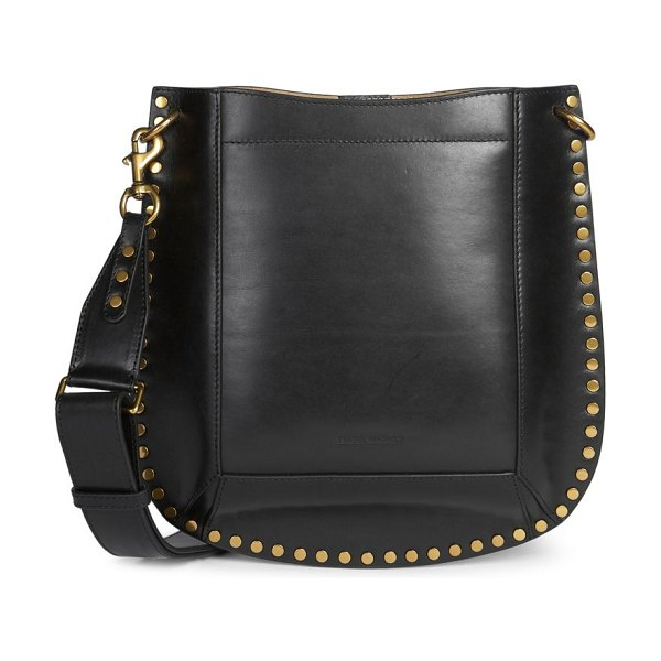 Isabel Marant oskan leather hobo bag in black