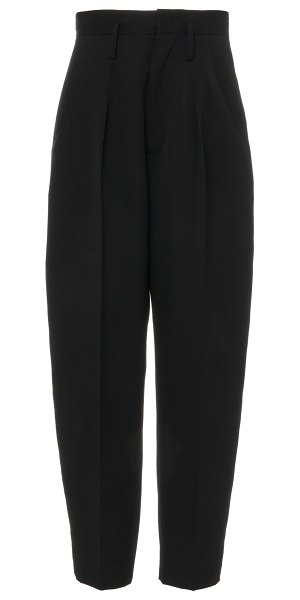 Isabel Marant racomisl tapered wool pants in black