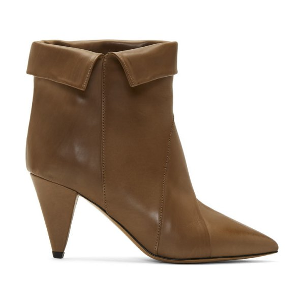 Isabel Marant taupe larel boots in 23nl natura