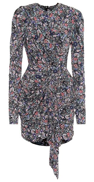 Isabel Marant tonia printed stretch-jersey minidress in multicoloured