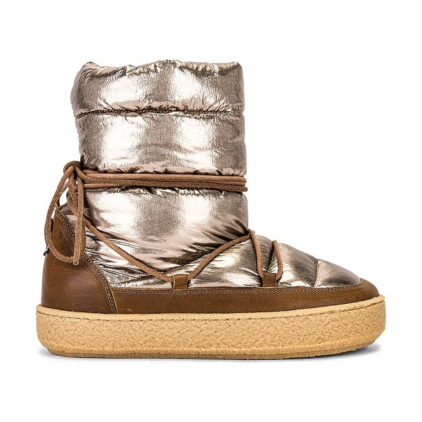 Isabel Marant zimlee boot in bronze