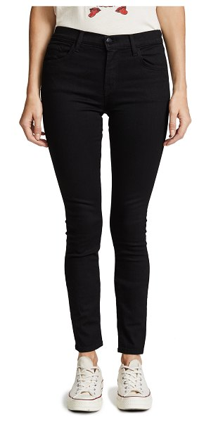 J Brand 811 photo ready mid rise skinny jeans in vanity