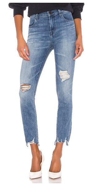 J Brand alana high rise crop skinny. - size 23 (also in fix up destruct