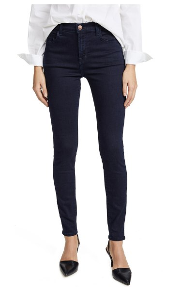 J Brand maria high rise photo ready jeans in bluebird