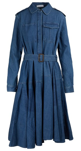 J W Anderson Belted shirt dress in color