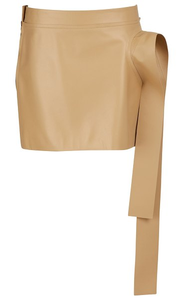 J W Anderson Leather mini skirt in color