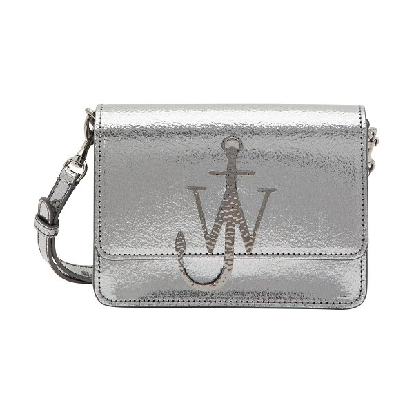 J W Anderson Logo shoulder bag in iron