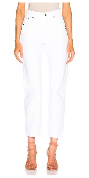 JACQUEMUS le jean in white