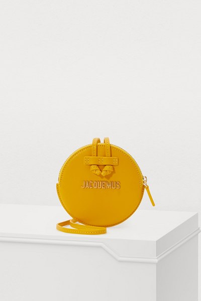JACQUEMUS Le Pitchou leather bag