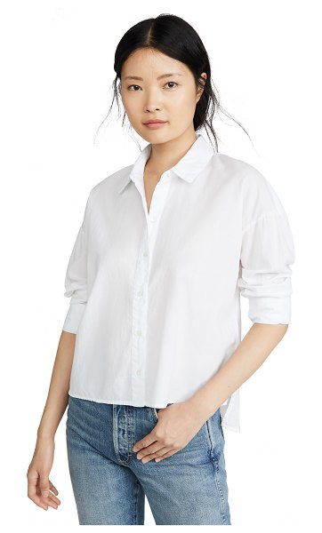James Perse boxy shirt in white
