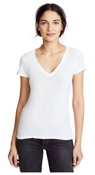 James Perse casual tee in white