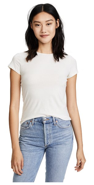 JAMES PERSE classic crew tee - A simple James Perse tee in super-soft jersey. Overlock...