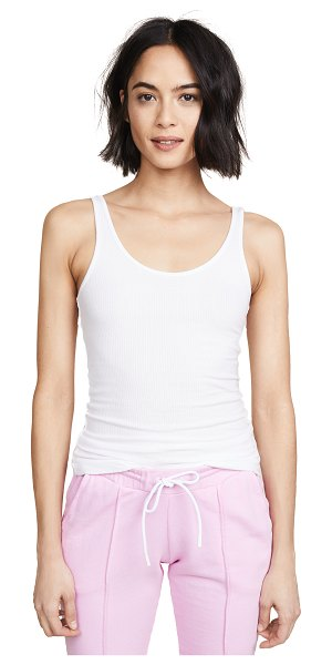 James Perse daily tank in white