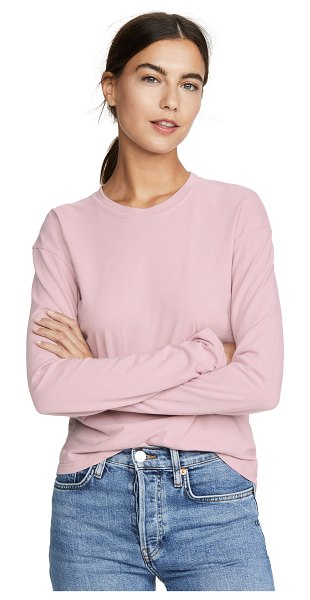 James Perse vintage boxy tee in antique rose