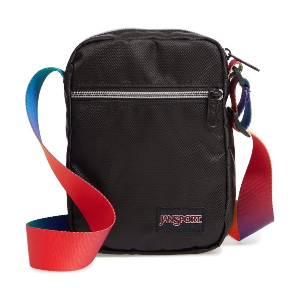 Jansport fx crossbody bag in rainbow webbing - Take only the essentials when you're out on the town,...