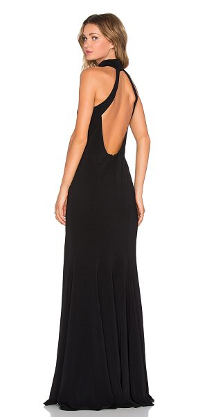 Jay Godfrey cameo dress in black