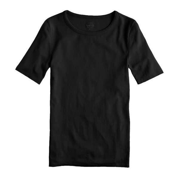 J.Crew new perfect fit tee in black