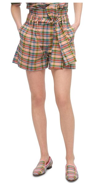 J.Crew paperbag waist shorts in mountain multi