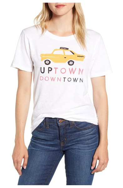 J.Crew taxi tee in white
