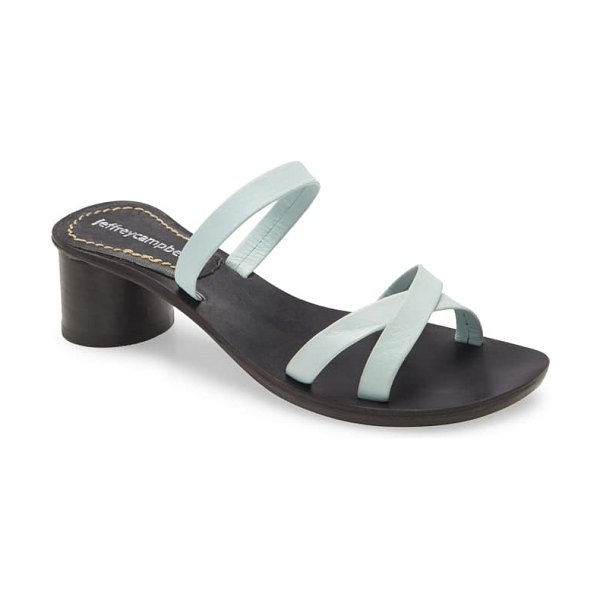 Jeffrey Campbell roza slide sandal in baby blue
