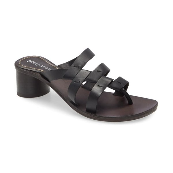 Jeffrey Campbell rozaline slide sandal in black