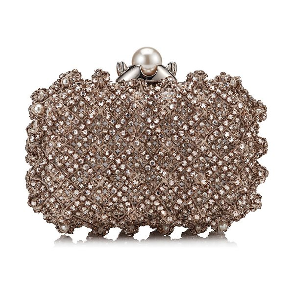 f61d88586bd Jimmy Choo Cloud Pearl Satin Clutch Bag With Crystal Bead Embroidery ...