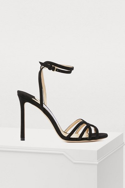 Jimmy Choo Mimi 100 sandals in black