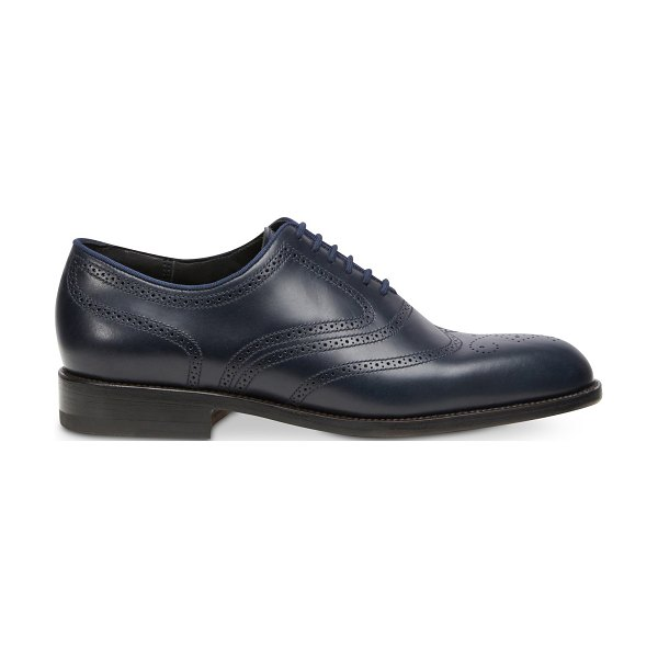 Jm Weston Cyclist Brogues in dark blue