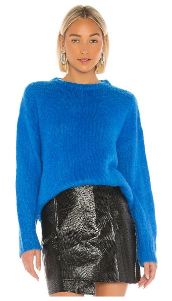 J.O.A. oversized sweater in blue