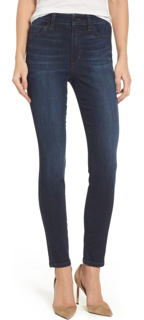 JOE'S charlie high waist skinny jeans - Classic and versatile, these svelte skinnies are cut from a...