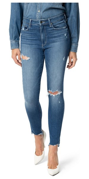 Joe's Jeans The Charlie Distressed Ankle Skinny Jeans in pearla