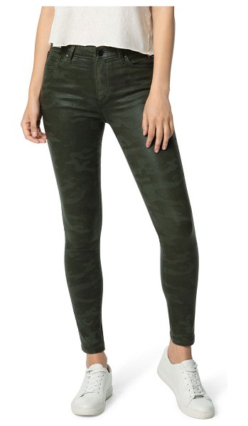 Joe's Jeans The Icon Ankle Skinny Coated Jeans in coated laser camo
