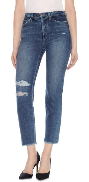 JOE'S taylor hill x  debbie high rise ankle jeans - Smooth Italian stretch-denim jeans with a high-rise...