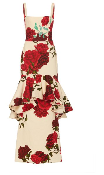 Johanna Ortiz exclusive universal exposition floral-print cotton-blend in floral