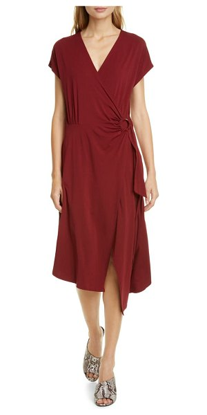Joie anjula asymmetrical wrap dress in topanga