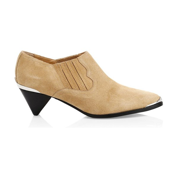 Joie baler suede ankle boots in tan