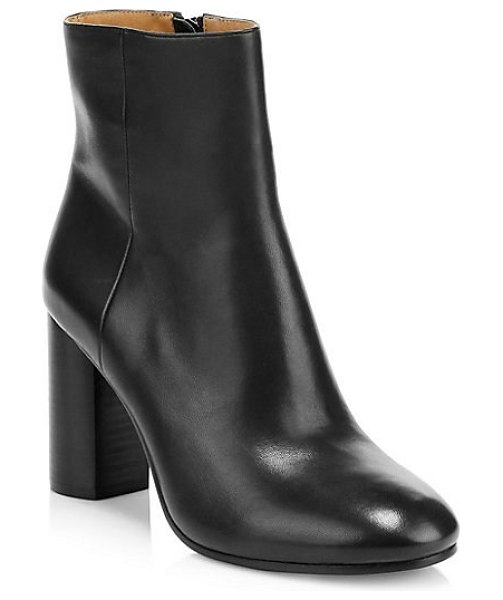 Joie lara leather ankle boots in black